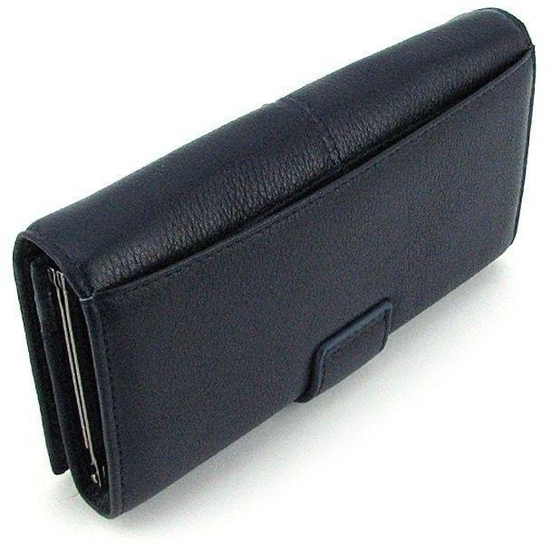 40d5a286943f Женский кошелек Givenchy синий кожаный на кнопке. Описание · Характеристики  · Отзывы
