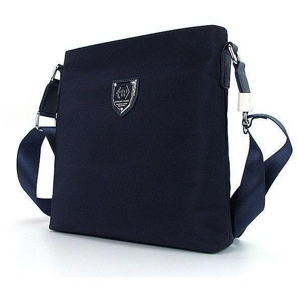 9fa464835b55 Мужская текстильная синяя сумка Philipp Plein — купить в интернет ...
