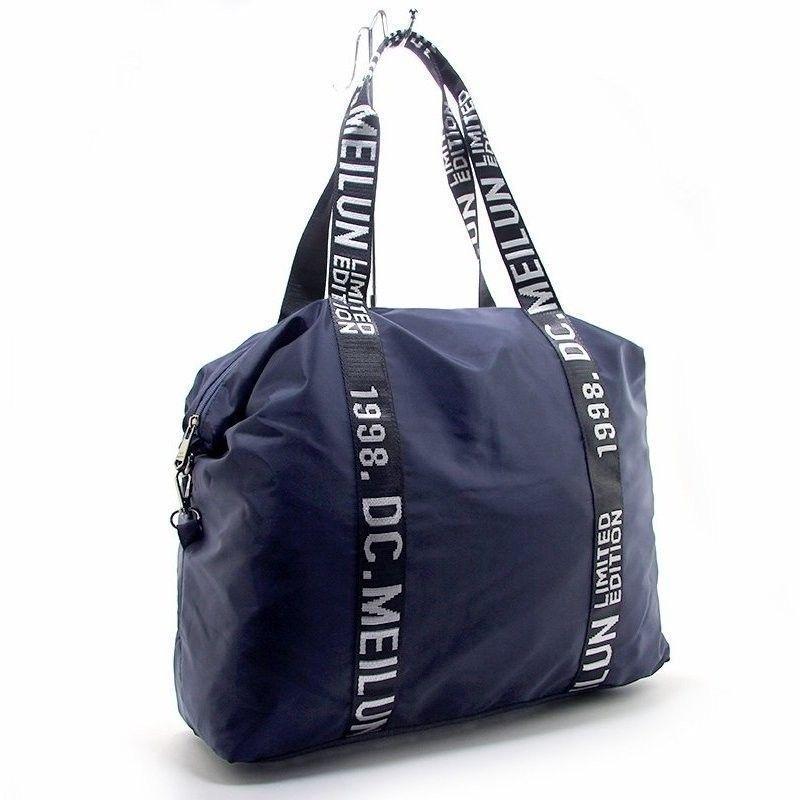 5f8f12f687b6 Синяя текстильная сумка Emkeke спорт/дорога — купить в интернет ...