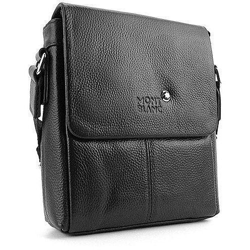 e7236c05901a Мужская сумка через плечо Montblanc кожаная — купить в интернет ...